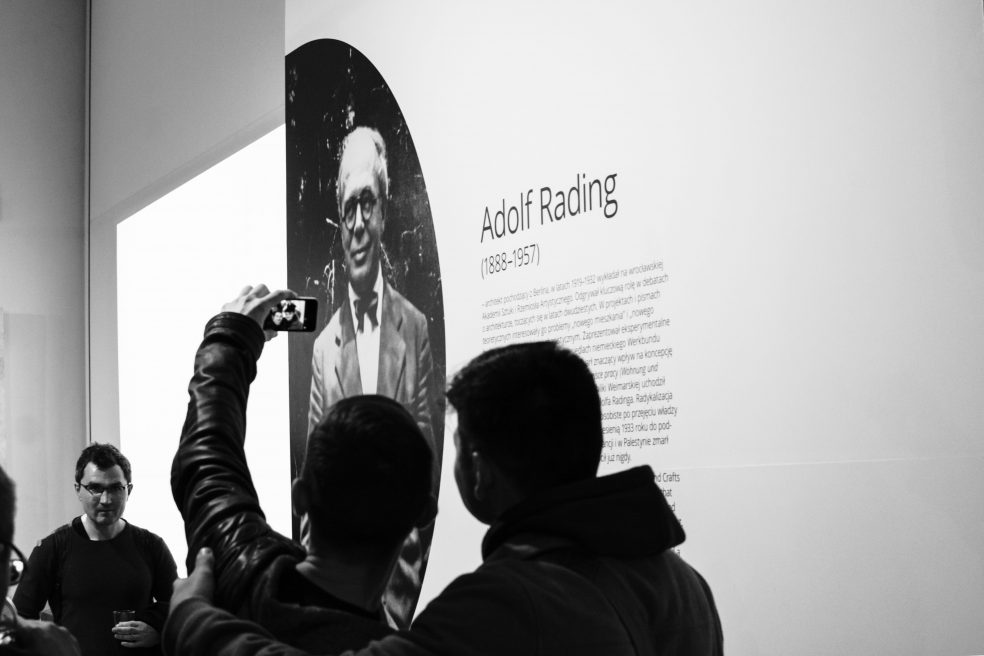 Exhibition of Adolf Rading works, Museum of Architecture in Wrocław