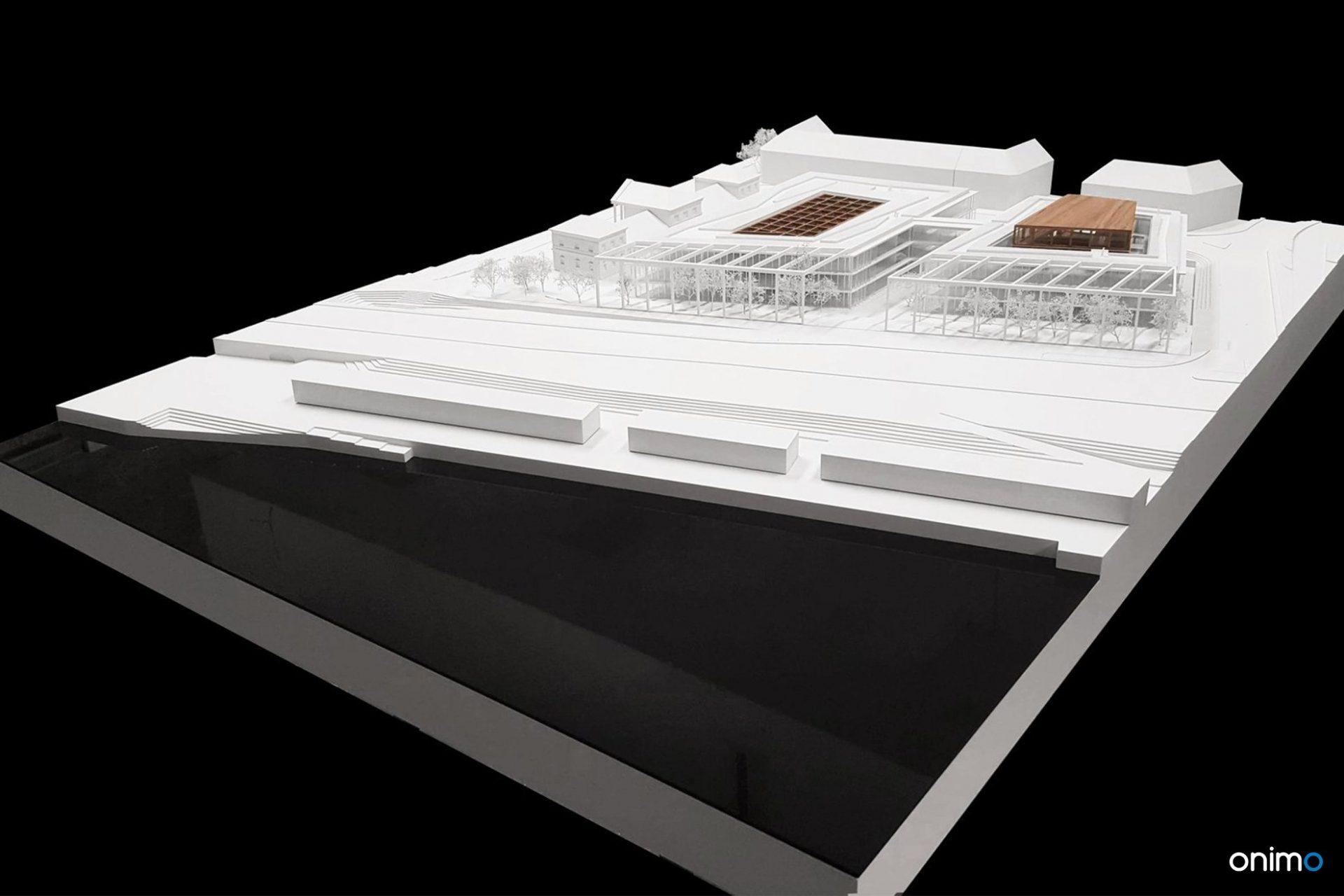 Budynek dydaktyczny UW | BDR Architekci | ONIMO Najlepsze Makiety Architektoniczne