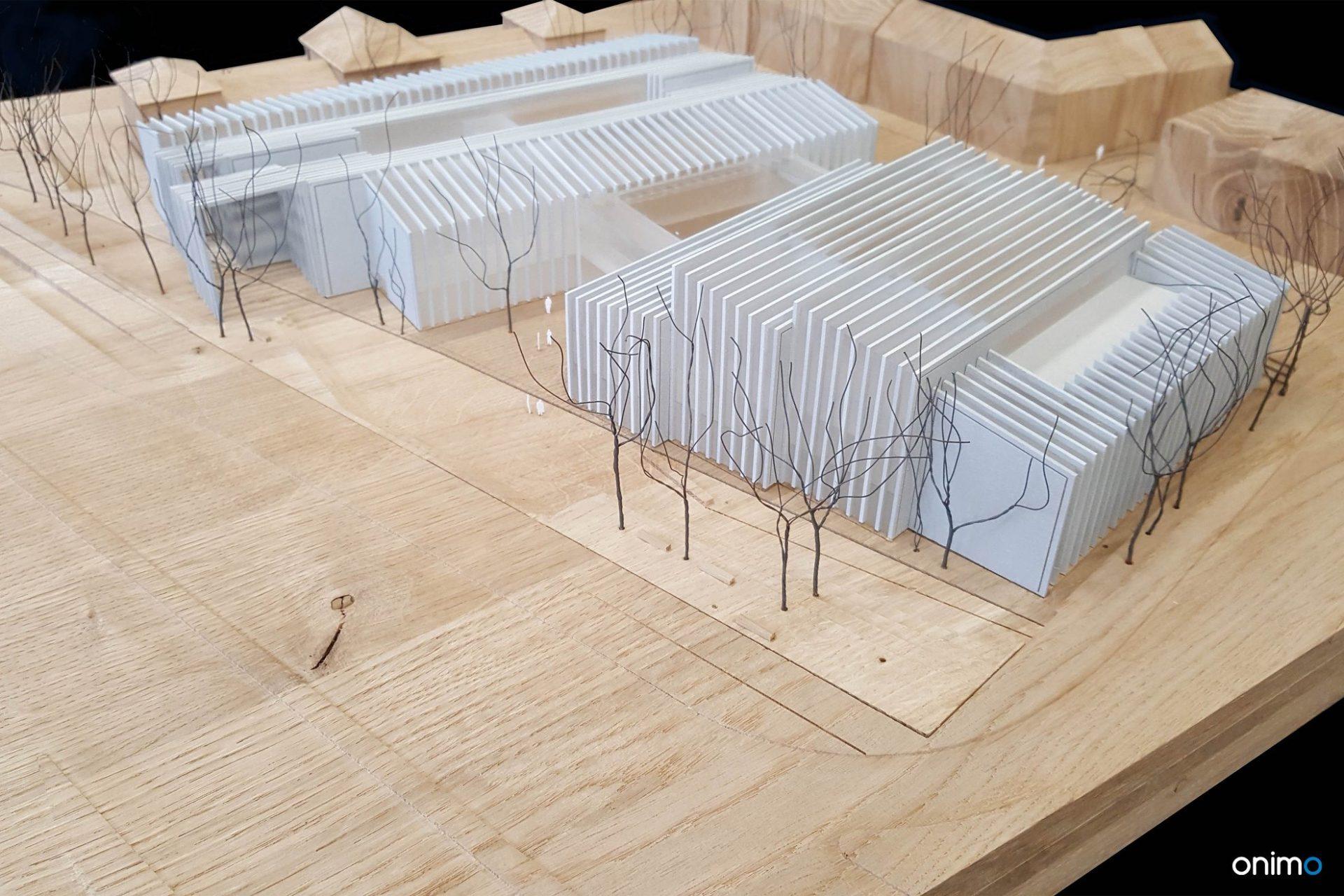 Budynek dydaktyczny UW | Atelier Tektura | ONIMO Najlepsze Makiety Architektoniczne