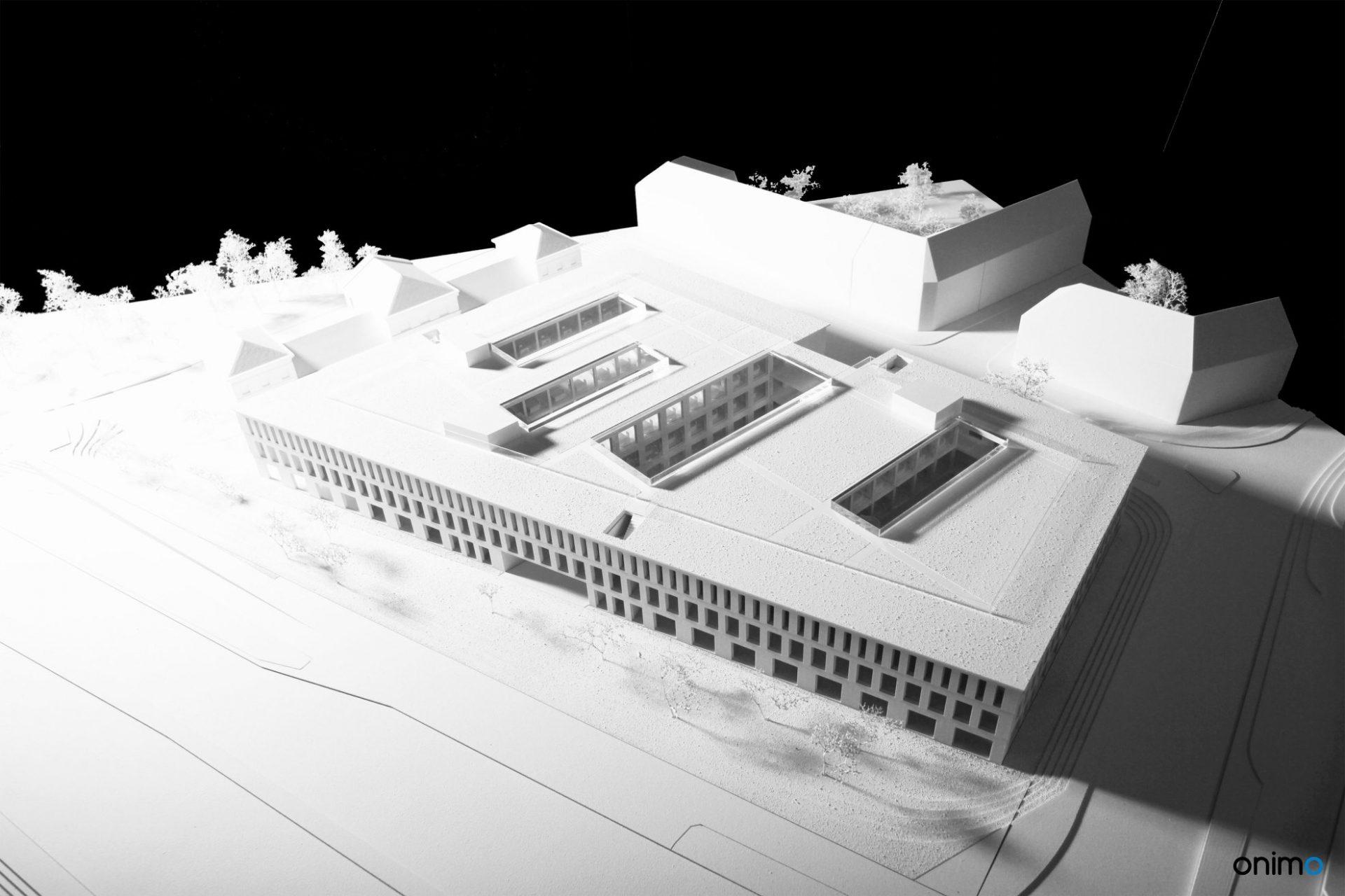 Budynek dydaktyczny UW, WXCA, ONIMO Makiety Architektoniczne, najlepsze makiety architektoniczne, najlepsze modele budynków