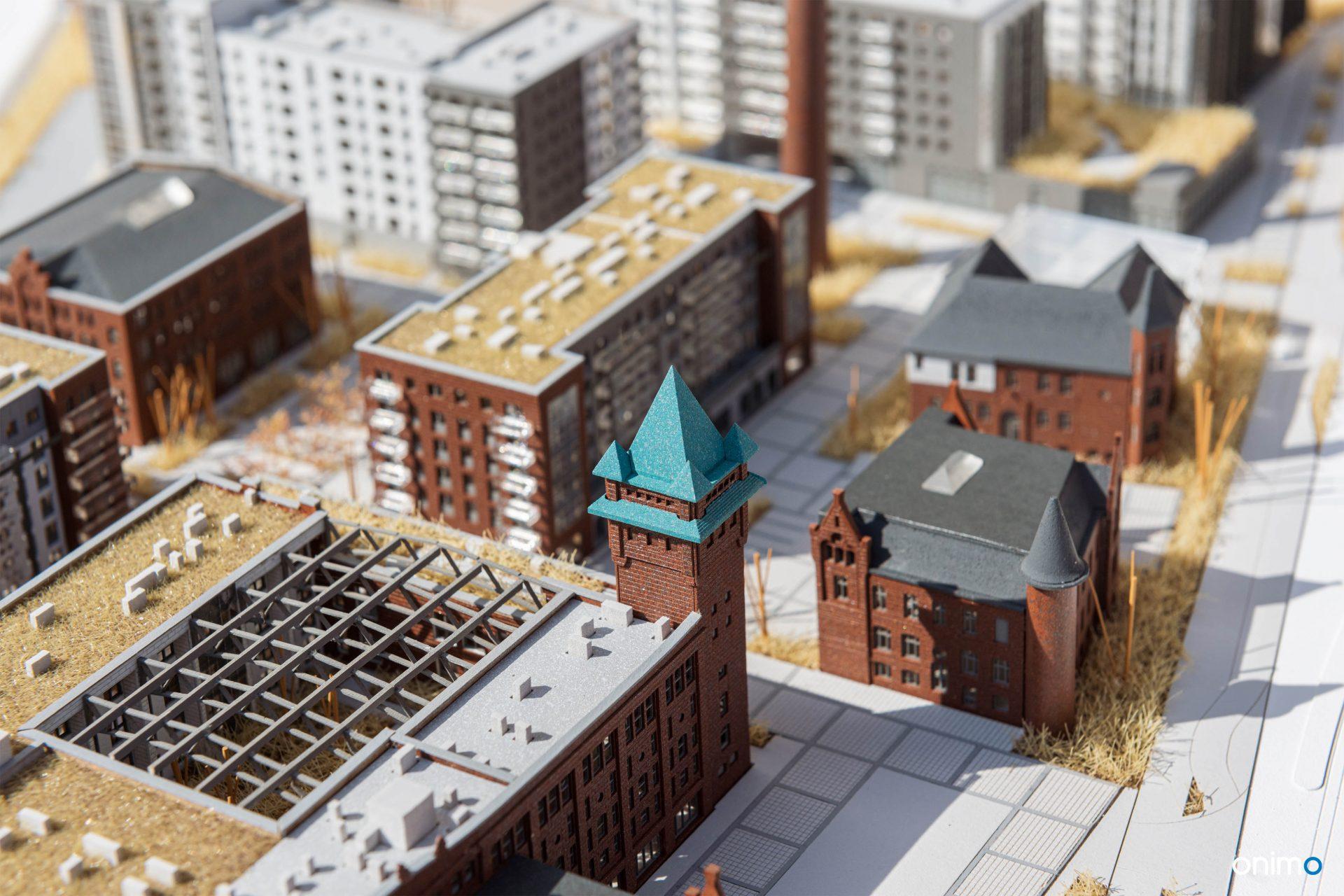 BROWARY WROCŁAWSKIE WROCŁAW | ONIMO Architectural Models