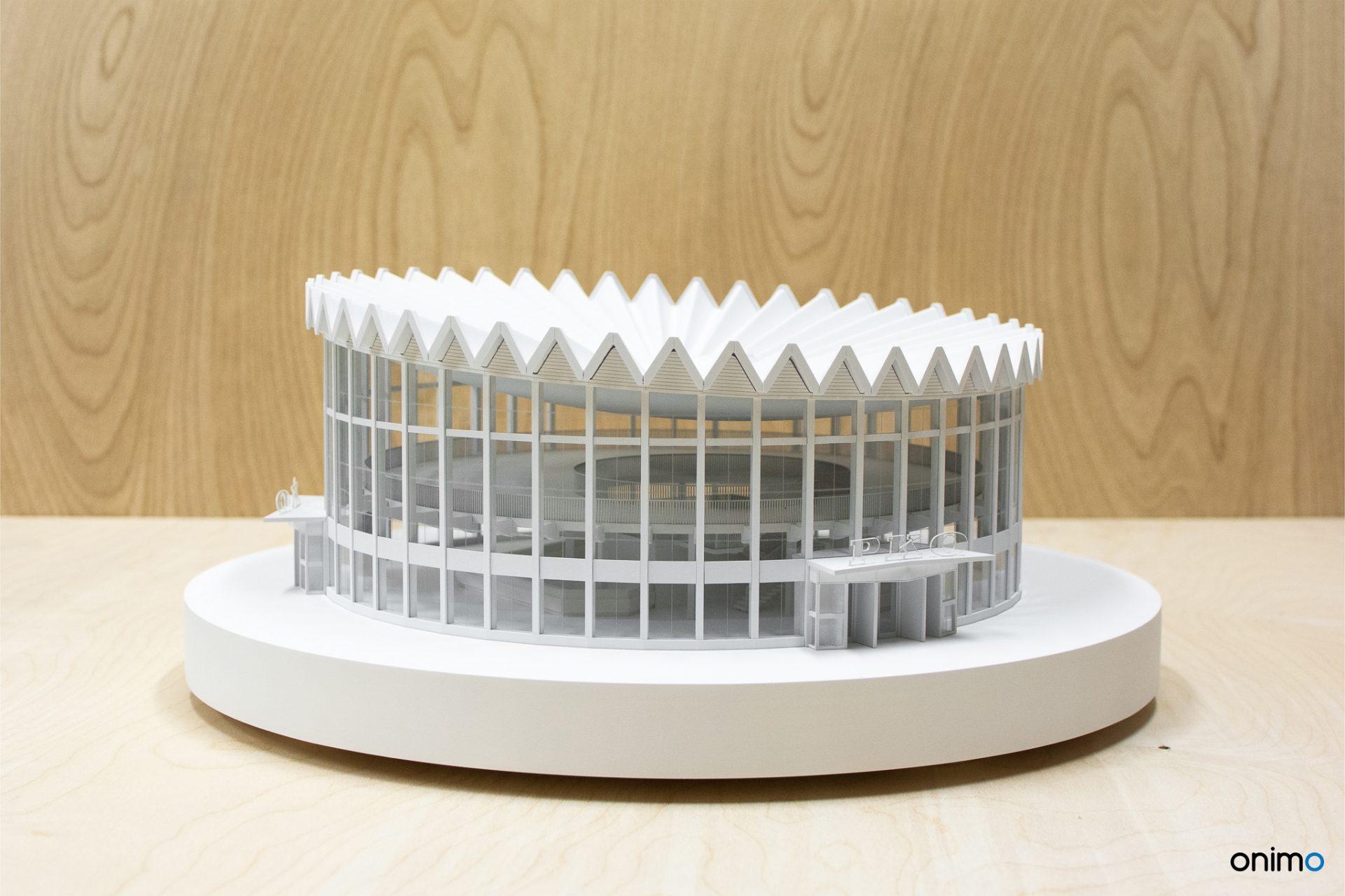 ROTUNDA | ŚCIANA WSCHODNIA | Onimo Makiety Architektoniczne | Modele Budynków | Model Rotundy