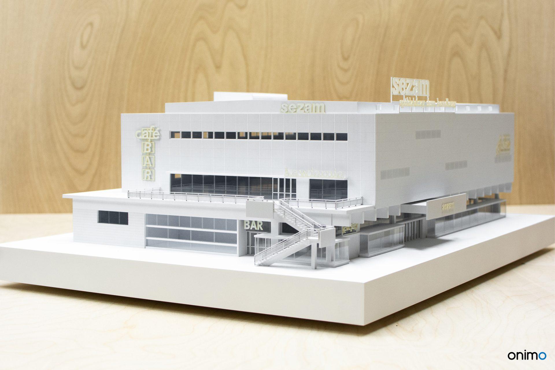 SEZAM   ŚCIANA WSCHODNIA   Onimo Makiety Architektoniczne   Modele Budynków